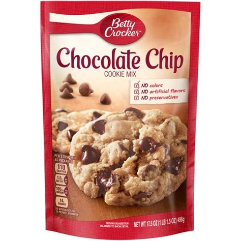 betty crocker chocolate chip cookie mix oz target