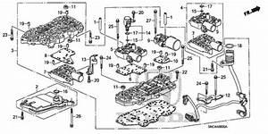 Oem 2010 Honda Civic Hybrid Sedan Valve Body Parts