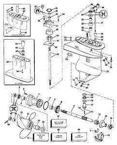 Evinrude 1986 15 - E15ecde  Gearcase