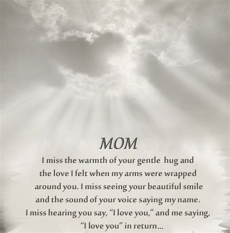 special mothers day quotes  moms   passed