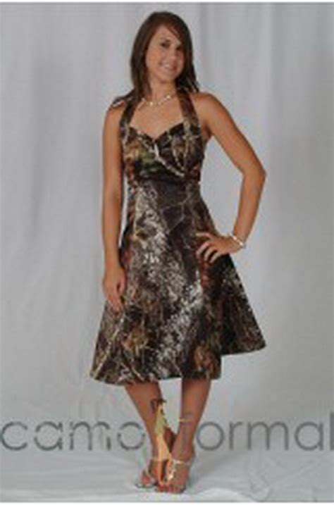 camo homecoming dresses