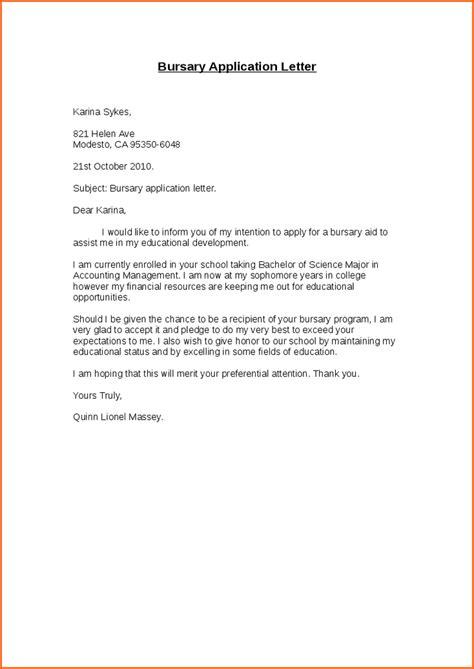 11 best motivational letter for bursary application pdf