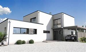 Façade Maison Moderne : maison moderne facade ~ Melissatoandfro.com Idées de Décoration