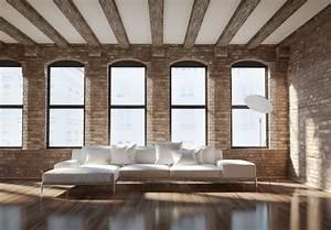 Exposed, Brick, Walls, In, Interior, Design