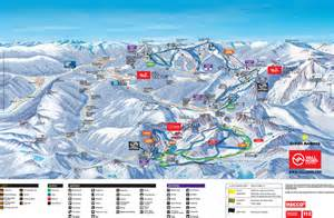 Plan des pistes Pal/Arinsal – La Massana (Vallnord)