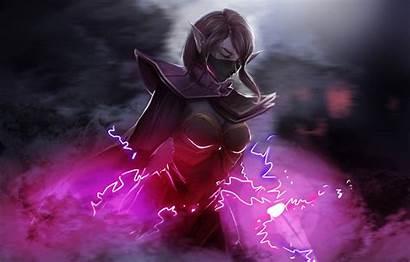 Templar Assassin Dota Artwork Lanaya Lana Mask