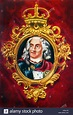 Augustus II the Strong (August II der Starke). Portrait of the Stock Photo, Royalty Free Image ...