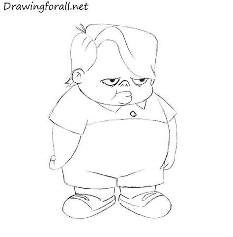 draw louie anderson drawingforallnet