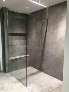 Sitzbank Für Badezimmer : die besten 25 fliesen betonoptik ideen auf pinterest industriefliese fliesen holzoptik grau ~ Eleganceandgraceweddings.com Haus und Dekorationen