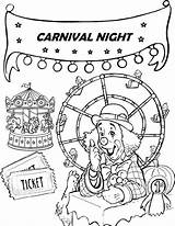 Coloring Ferris Wheel Coloringpagesfortoddlers Sheet Disimpan Dari sketch template