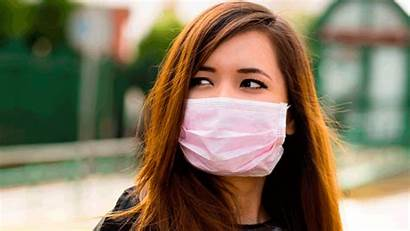 Coronavirus Mask Wear Wet Wipes Sick Should