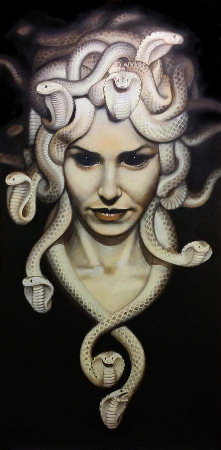 Medusa Painting by Sal Franco