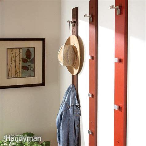 create  sleek  simple coat rack  hat rack