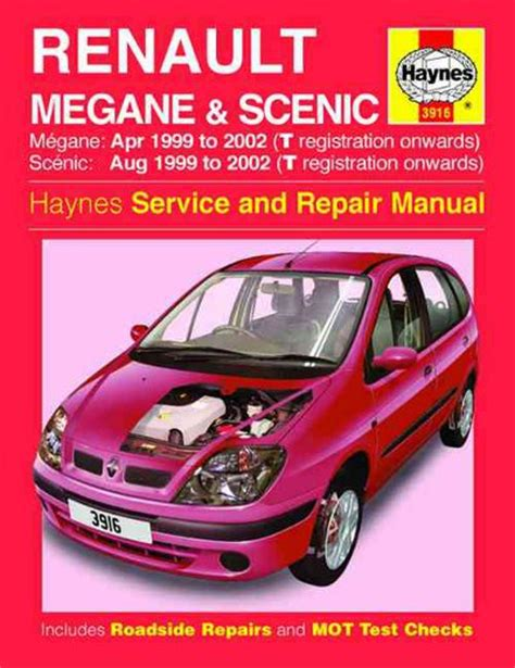 renault megane  scenic haynes workshop car manuals