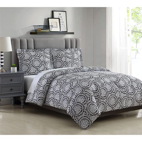 Sears Bed Sheets by Essential Home Microfiber Comforter Set Idrina Print