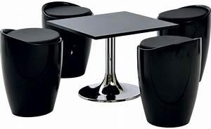 Table Basse 4 Poufs : location ensemble poufs winter noir table basse kuadra noir et bas phiapa line ~ Teatrodelosmanantiales.com Idées de Décoration