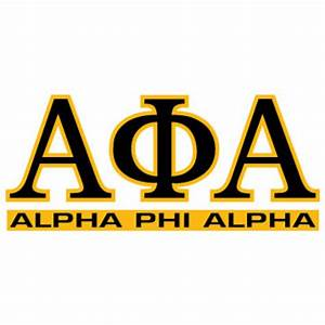greek store alpha phi alpha letters over name decal greek With alpha art letters