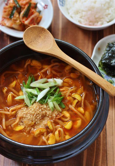 korean food photo soybean sprout soup maangchicom