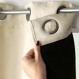 Rideau Occultant Thermique : rideau isolant thermique pas cher ~ Premium-room.com Idées de Décoration
