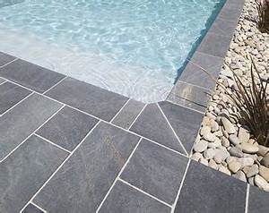 margelle piscine grise anthracite kirafes With margelle piscine grise anthracite