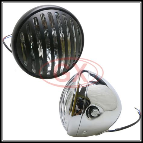 cafe racer replace headlight metal oem quality universal