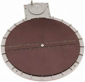 Ho Manual Turntable  For Use With Your Ho Scale Layout  By