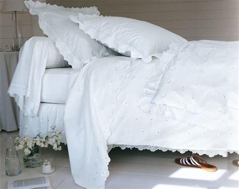 linge de maison brode linge de lit brod 233 fils soyeux becquet