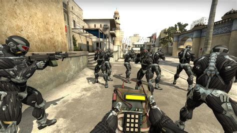 nanosuit counter strike global offensive skin mods