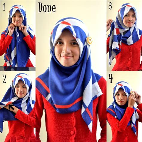 tutorial hijab segitiga  kerja tutorial hijab