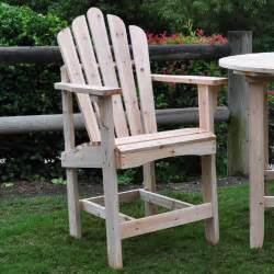 shine company westport counter high adirondack chair