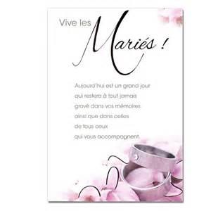 carte pour mariage mariage bonheur mariage