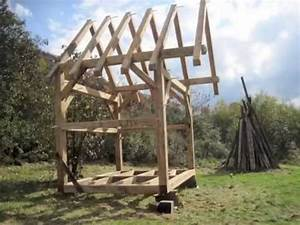 The Hawk Circle Small Timber Frame - YouTube