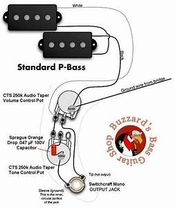 Wiring Diagram P Bass