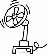Fan Electric Clipart Template Coloring Pages Templates sketch template