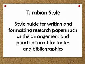 Kate Turabian A Manual For Writers Western Australia