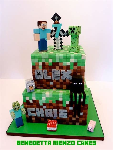 10 Best Images About Minecraft Cakes On Pinterest Pool