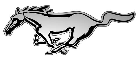 mustang horse logo mustang logo clipart best