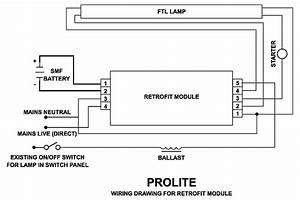 Fluorescent Tube Starter Diagram