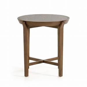 modrest olenna modern walnut side table end tables With designer side tables for living room