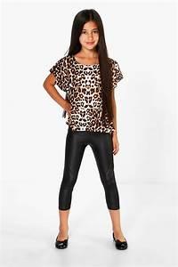 Girls Black Leggings - Trendy Clothes