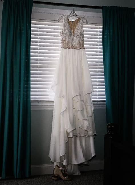 hayley paige style 6658 leigh preloved wedding dress on sale 33 off stillwhite