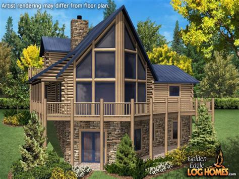 Chalet House Plans Chalet Home Plan Mountain Cabin