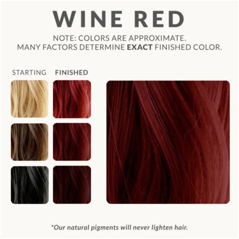 Colors To Dye Hair by Wine Henna Hair Dye Henna Color Lab 174 Henna Hair Dye