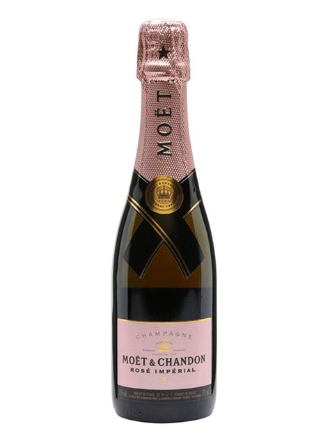 moet chandon rose imperial champagne  bottle