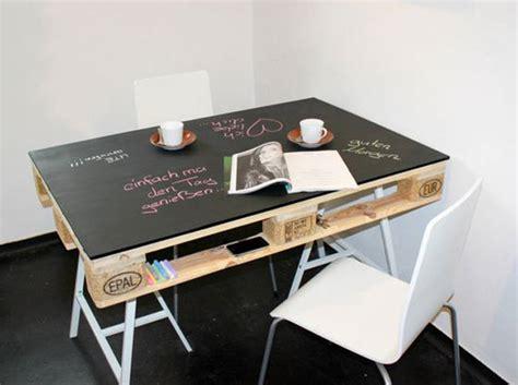bureau tableau 2 en 1 la palette en bois dans tous ses états décoration