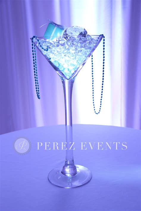Tiffany Co Centerpiece Martini Glass Centerpiece