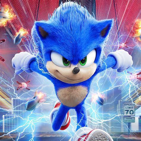 2048x2048 Sonic The Hedgehog 2020 Movie Ipad Air HD 4k ...