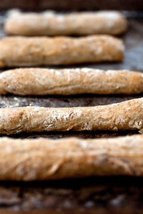 rye caraway breadsticks recipe nyt cooking