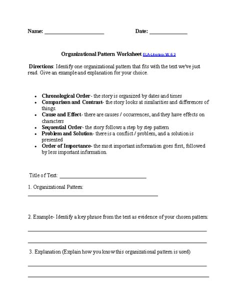 6th grade common writing worksheets
