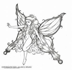 easy fairy sketches - Google Search | Artsy Fartsy ...